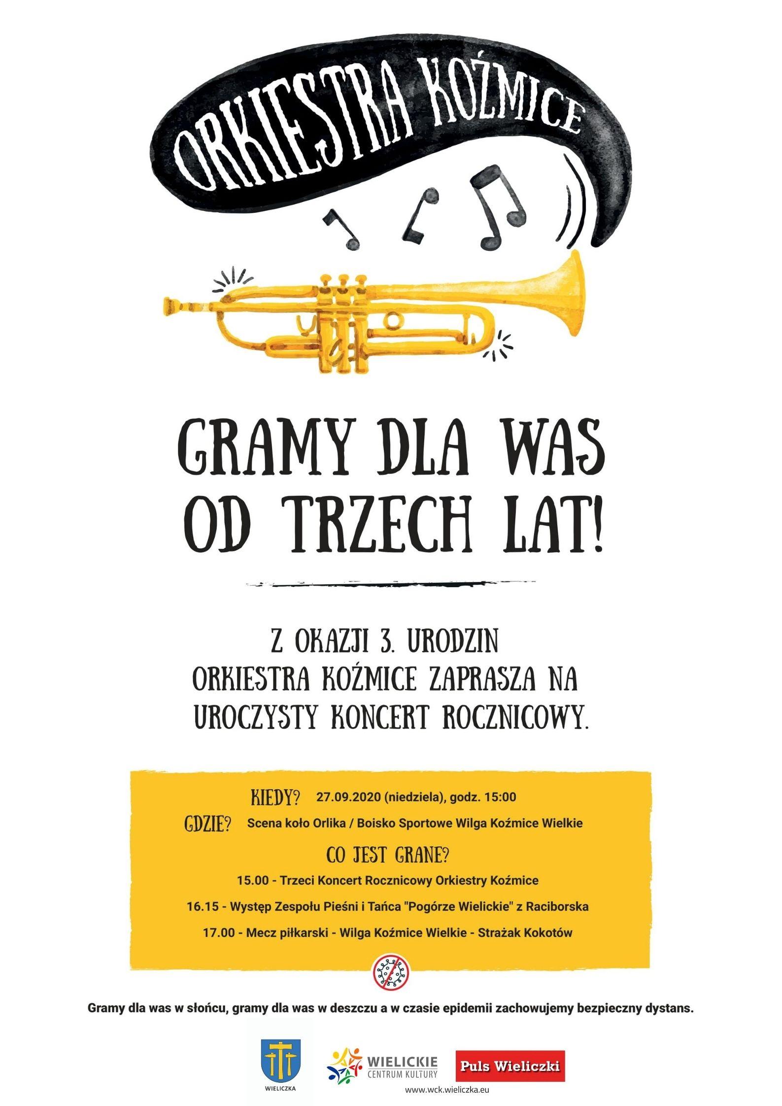 3. urodziny Orkiestry Dętej Koźmice